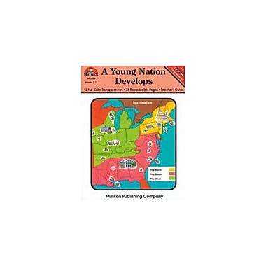 Milliken Publishing A Young Nation Develops Social Studies Workbook, Grade 7 - Grade 12 [Enhanced eBook]