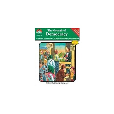 Milliken Publishing The Growth of Democracy Social Studies Workbook, Grade 7 - Grade 12 [Enhanced eBook]