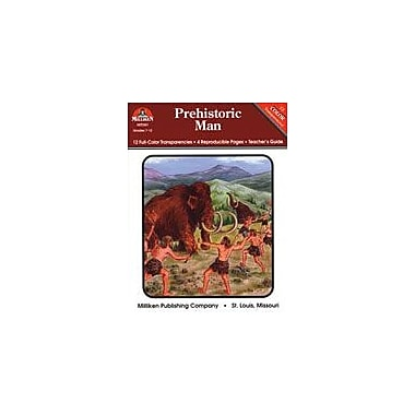 Milliken Publishing Prehistoric Man Social Studies Workbook, Grade 7 - Grade 12 [eBook]