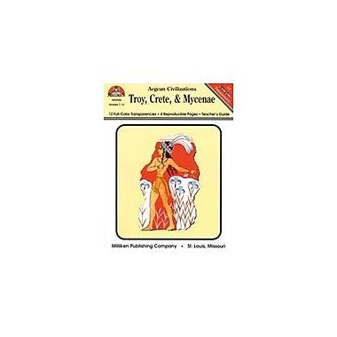 Milliken Publishing Troy, Crete, and Mycenae Social Studies Workbook, Grade 7 - Grade 12 [eBook]