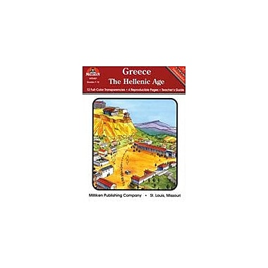 Milliken Publishing Greece: the Hellenic Age Social Studies Workbook, Grade 7 - Grade 12 [Enhanced eBook]