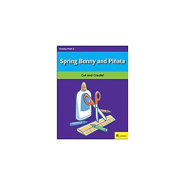 Teaching and Learning Company Spring Bunny and Piata Art & Music Workbook, Kindergarten - Grade 2 [eBook]