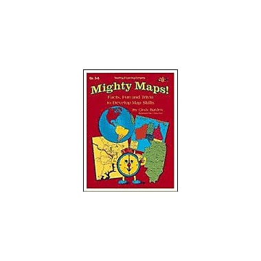 Teaching and Learning Company Mighty Maps! Geography Workbook, Grade 3 - Grade 6 [Enhanced eBook]