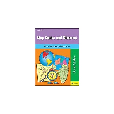 Teaching and Learning Company Map Scales and Distance Social Studies Workbook, Grade 3 - Grade 6 [eBook]