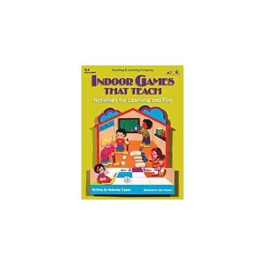 Teaching and Learning Company Indoor Games That Teach Cross-Curricular Workbook, Kindergarten - Grade 4 [Enhanced eBook]