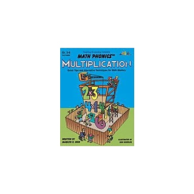 Teaching and Learning Company Math Phonics Multiplication Math Workbook, Grade 3 - Grade 6 [eBook]