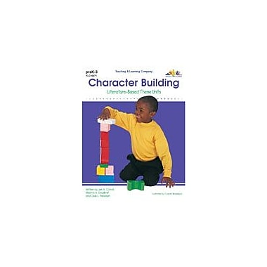 Teaching and Learning Company Character Building Character & Social Skills Workbook, Preschool - Grade 3 [Enhanced eBook]
