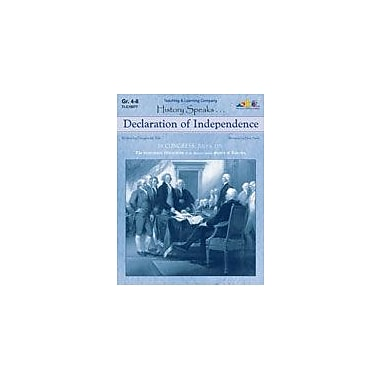 Teaching and Learning Company Declaration of Independence History Workbook, Grade 4 - Grade 8 [Enhanced eBook]