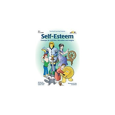 Teaching and Learning Company Self-Esteem Character & Social Skills Workbook, Kindergarten - Grade 3 [eBook]