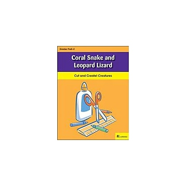 Teaching and Learning Company Coral Snake and Leopard Lizard Art & Music Workbook, Kindergarten - Grade 2 [eBook]