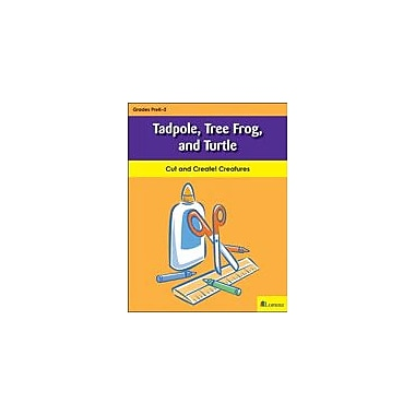 Teaching and Learning Company Tadpole, Tree Frog, and Turtle Art & Music Workbook, Kindergarten - Grade 2 [eBook]