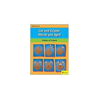 Teaching and Learning Company Cut and Create! March and April Art & Music Workbook, Kindergarten - Grade 2 [eBook]