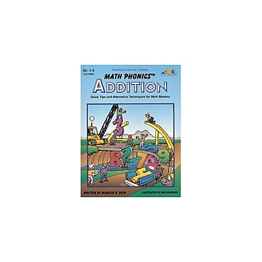 Teaching and Learning Company Math Phonics Addition Math Workbook, Grade 1 - Grade 3 [Enhanced eBook]