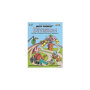 Teaching and Learning Company Math Phonics Division Math Workbook, Grade 3 - Grade 6 [Enhanced eBook]