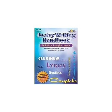 Teaching and Learning Company Poetry Writing Handbook Language Arts Workbook, Grade 4 - Grade 6 [Enhanced eBook]