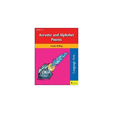 Teaching and Learning Company Acrostic and Alphabet Poems Reading & Writing Workbook, Grade 4 - Grade 6 [eBook]