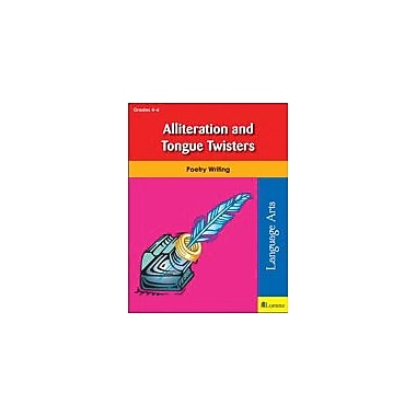 Teaching and Learning Company Alliteration and Tongue Twisters Reading & Writing Workbook, Grade 4 - Grade 6 [eBook]