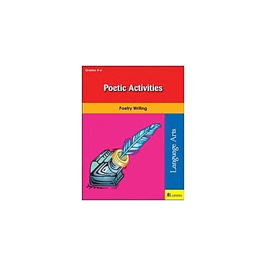 Teaching and Learning Company Poetic Activities Reading & Writing Workbook, Grade 4 - Grade 6 [eBook]