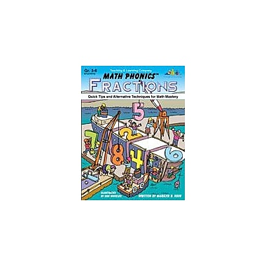 Teaching and Learning Company Math Phonics Fractions Math Workbook, Grade 3 - Grade 6 [Enhanced eBook]