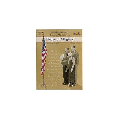 Teaching and Learning Company Pledge of Allegiance History Workbook, Grade 4 - Grade 8 [Enhanced eBook]