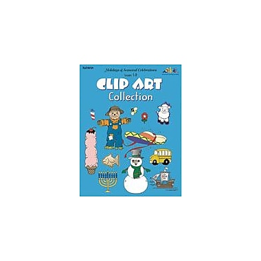 Teaching and Learning Company Holidays & Seasonal Celeb Art & Music Workbook, Kindergarten - Grade 5 [eBook]