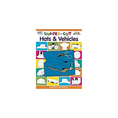 Teaching and Learning Company Shapes to Cut: Hats & Vehicles Art & Music Workbook, Preschool - Grade 1 [Enhanced eBook]