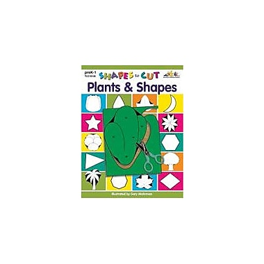 Teaching and Learning Company Shapes to Cut: Plants & Shapes Art & Music Workbook, Preschool - Grade 1 [Enhanced eBook]