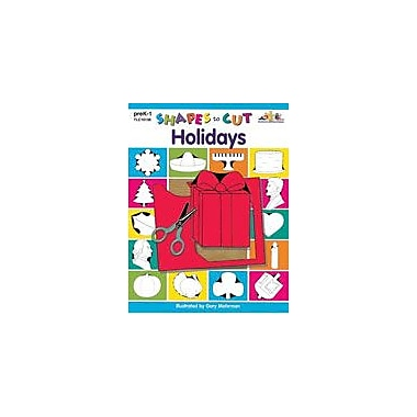 Teaching and Learning Company Shapes to Cut: Holidays Art & Music Workbook, Preschool - Grade 1 [Enhanced eBook]