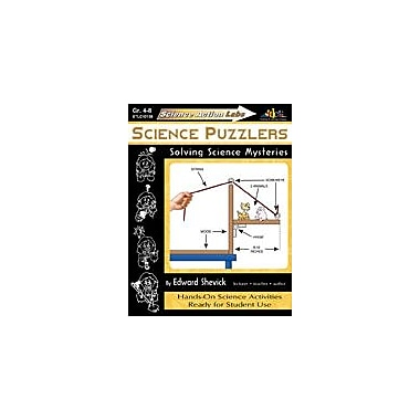 Teaching and Learning Company Science Action Labs Science Puzzlers Science Workbook, Grade 4 - Grade 8 [Enhanced eBook]