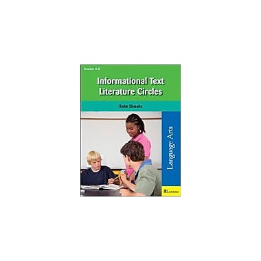 Teaching and Learning Company Informational Text Literature Circles Reading & Writing Workbook, Grade 4 - Grade 8 [eBook]