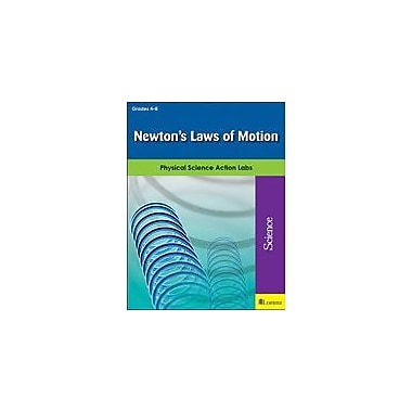 Teaching and Learning Company Newton's Laws of Motion Science Workbook, Grade 4 - Grade 8 [eBook]