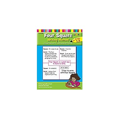 Teaching and Learning Company Four Square Writing Method For Grades 1-3 Language Arts Workbook, Grade 1 - Grade 3 [eBook]