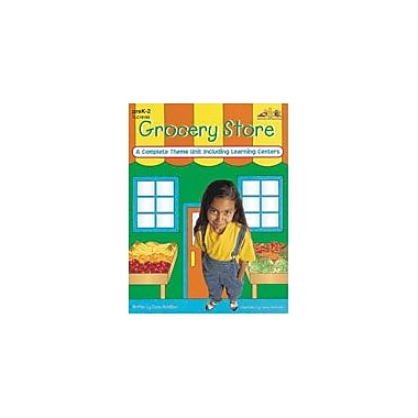 Teaching and Learning Company Grocery Store Cross-Curricular Workbook, Preschool - Grade 2 [eBook]