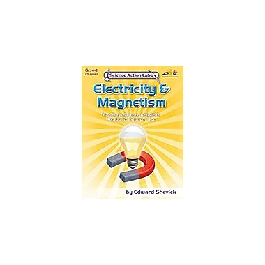 Teaching and Learning Company Science Action Labs Electricity and Magnetism Science Workbook, Grade 4 - Grade 8 [Enhanced eBook]