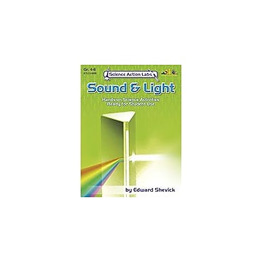 Teaching and Learning Company Science Action Labs Sound & Light Science Workbook, Grade 4 - Grade 8 [Enhanced eBook]