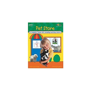 Teaching and Learning Company Pet Store Cross-Curricular Workbook, Kindergarten - Grade 2 [eBook]