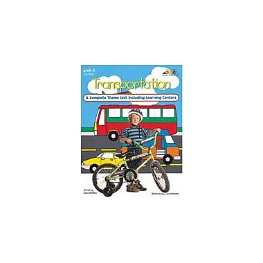 Teaching and Learning Company Transportation Cross-Curricular Workbook, Kindergarten - Grade 2 [Enhanced eBook]