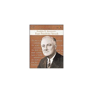 Teaching and Learning Company Franklin D. Roosevelt's Four Freedoms Speech History Workbook, Grade 4 - Grade 8 [Enhanced eBook]