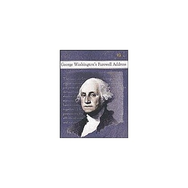 Teaching and Learning Company George Washington's Farewell Address History Workbook, Grade 4 - Grade 8 [Enhanced eBook]