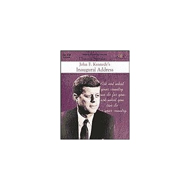 Teaching and Learning Company John F. Kennedy's Inaugural Address History Workbook, Grade 4 - Grade 8 [Enhanced eBook]