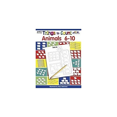Teaching and Learning Company Things to Count: Animals 6-10 Math Workbook, Preschool - Grade 1 [Enhanced eBook]