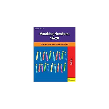Teaching and Learning Company Matching Numbers: 16-20 Math Workbook, Kindergarten - Grade 1 [eBook]