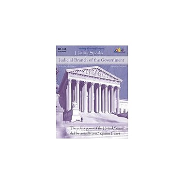 Teaching and Learning Company Judicial Branch of the Government History Workbook, Grade 4 - Grade 8 [Enhanced eBook]