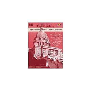 Teaching and Learning Company Legislative Branch of the Government History Workbook, Grade 4 - Grade 8 [Enhanced eBook]