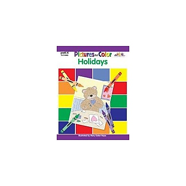 Teaching and Learning Company Pictures to Color: Holidays Art & Music Workbook, Preschool - Kindergarten [eBook]