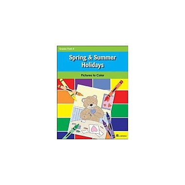 Teaching and Learning Company Spring & Summer Holidays Art & Music Workbook, Kindergarten [eBook]