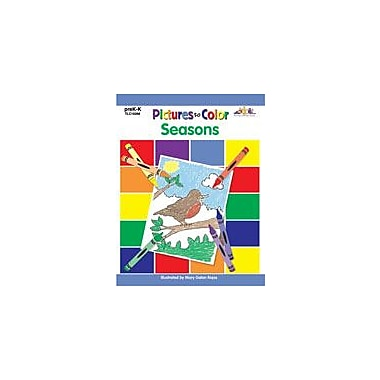 Teaching and Learning Company Pictures to Color: Seasons Art & Music Workbook, Preschool - Kindergarten [Enhanced eBook]