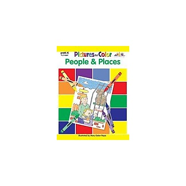 Teaching and Learning Company Pictures to Color: People Art & Music Workbook, Preschool - Kindergarten [Enhanced eBook]