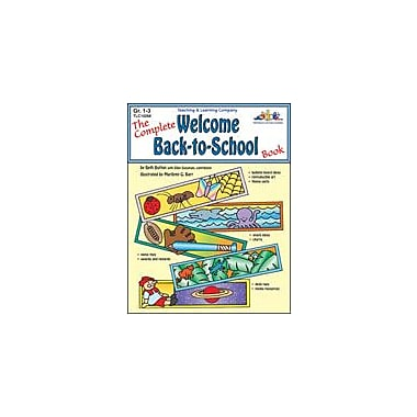 Teaching and Learning Company Complete Welcome Back-To-School Book (Gr. 1-3) Workbook, Grade 1 - Grade 3 [Enhanced eBook]
