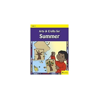 Teaching and Learning Company Arts & Crafts For Summer Art & Music Workbook, Kindergarten - Grade 3 [eBook]